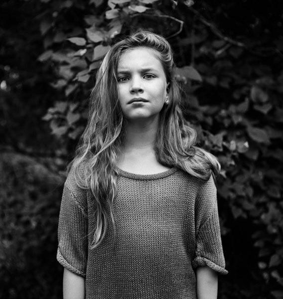 Julia at 9.  Foto: Nelli Palomäki.