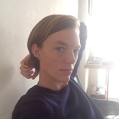 Åsa Johannesson.  (Foto: Okänd - självporträtt?)