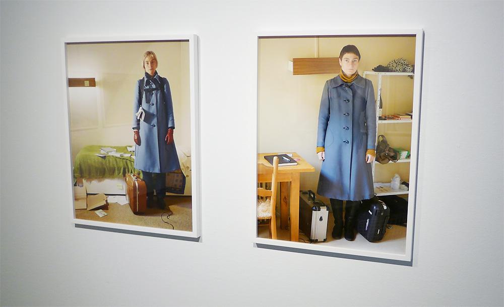 Diptyk av Elina Brotherus ur serien '12 ans après'.  (Foto: Kwesi Olsson.)